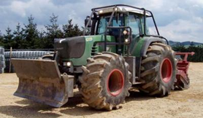 Neumático de tractor forestal
